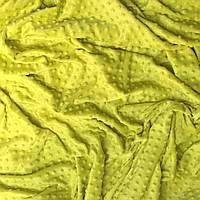 Плюш Minky липового цвета 300 г/м2 № м-63