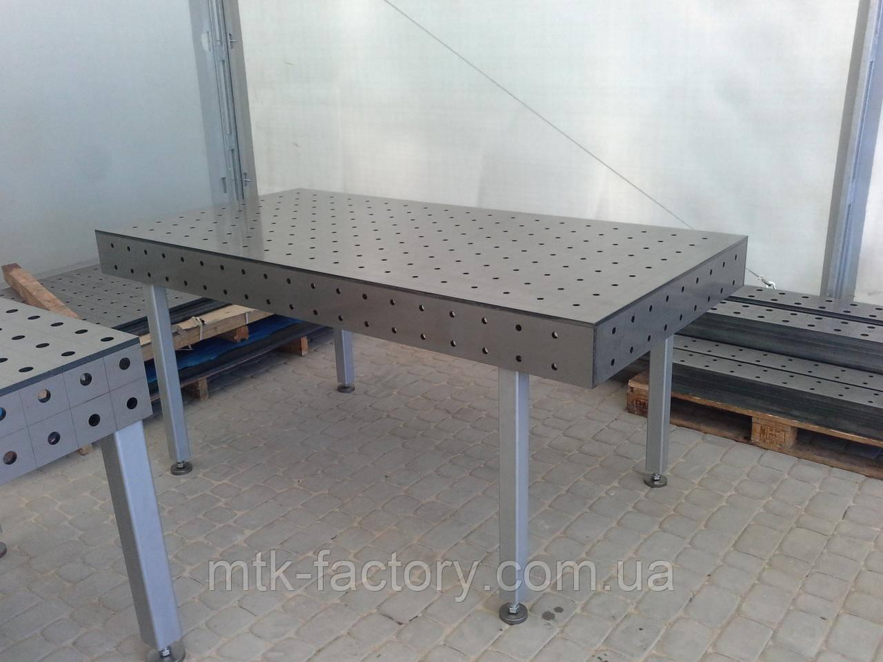 Стіл для зварювання MTK S16/100  2000х1000 (12мм)