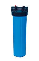 """2004 Магистральный фильтр для холодной воды """"Биг Блю"""" 20 с входами 1"""""""