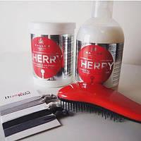 Маска для волос с экстрактом вишни Kallos Cosmetics Hair Cherry Mask