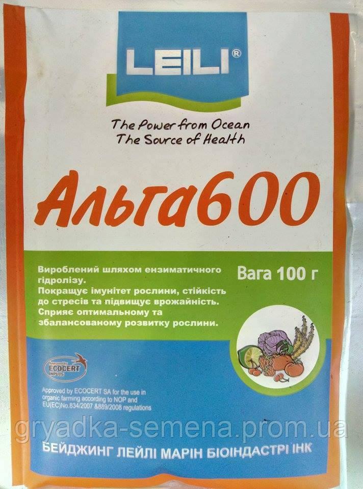 Альга 600 биостимулятор роста 100 г Leili