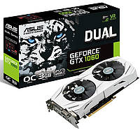PCIeX: GTX1060 Dual O3G Nvidia Asus 3GB/GDDR5/192bit/DVI, HDMI, DP ( Gaming )
