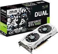 PCIeX: GTX1060 Dual O6G Nvidia Asus 6GB/GDDR5/192bit/DVI, HDMI, DP ( Gaming )