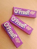 Жевательная резинка O'Fresh в ассортименте  Ежевика