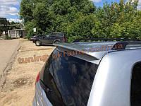 Спойлер на заднее стекло из ABS пластика на Mitsubishi Pajero Sport 2008-2015