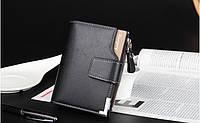 Мужской кошелек Baellery Mini Черный, фото 1