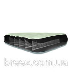 Надувной двуспальный матрас Intex 64709 бежевый 203 х 152 х 25 см, фото 2