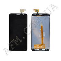 Дисплей (LCD) Alcatel 6012D Idol Mini/  6012X с сенсором черный