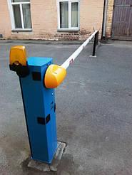 Шлагбаум автоматический Кейм производства Италия, оснащается стрелой 4-ре метра круглого сечения