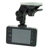 Видеорегистратор для вашего авто dvr k6000, с микрофоном, full hd 1020р, экран 2,7 дюйма, объектив с зумом 4х!Акция