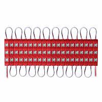 Светодиодный модуль SMD5730 с линзой красный
