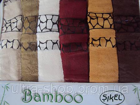 """Полотенца для лица """"Sikel Natural"""" Турция бамбук"""