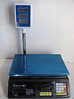 Электровесы со счетчиком цены Nokasonic NK 50 kg 4v (5gm) Со стойкой!Акция