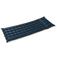 Тканевый односпальный надувной матрас Intex 68797 189 х 67 х 17 см, фото 1