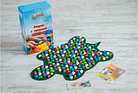 Массажный коврик-массажер с цветными камнями Черепаха (р.80х50см)