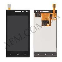 Дисплей (LCD) Huawei W1 с сенсором черный