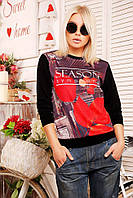 """Кофта """"Sweatshirt"""" KF-1207d, фото 1"""