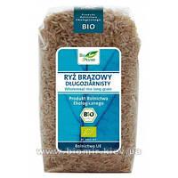 """Рис длинный цельнозерновой """"Bio Planet"""" 500 грамм"""