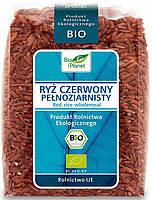 """Рис красный цельнозерновой органический """"Bio Planet"""" 400 грамм"""