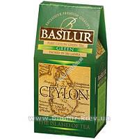 """Чай Basilur """"Зеленый"""" 100 грамм"""