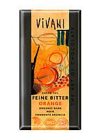 """Шоколад черный органический с апельсином """"Vivani"""""""