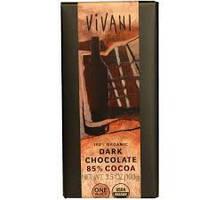 """Шоколад черный органический 85% какао """"Vivani"""""""