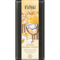 """Шоколад белый органический с манго и кокосом """"Vivani"""""""