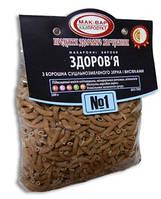 Макароны з муки цельного молотого зерна и отрубями №1