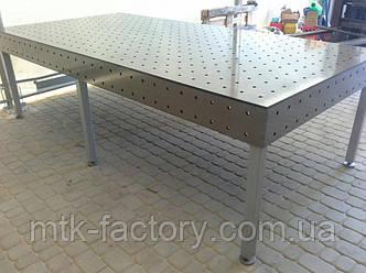 Стіл для зварювання System 10* 2400х1200 (10мм)