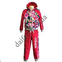 Трикотажный костюм для девочек S101-1 (4-7 лет) оптом в Одессе (7км).