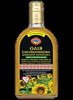 Масло домашнее украинское подсолнечное (премиум класс) (500 мл)