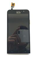 Оригинальный дисплей (модуль) + тачскрин (сенсор) для Asus Zenfone Go ZB500KG (черный цвет), фото 1
