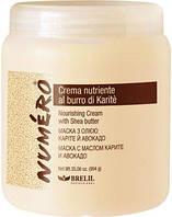 BrelilNumero Маска для волос с маслом карите и авокадо Brelil Numero