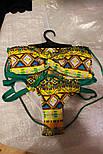 Женский стильный раздельный купальник с трусами с высокой посадкой, фото 2