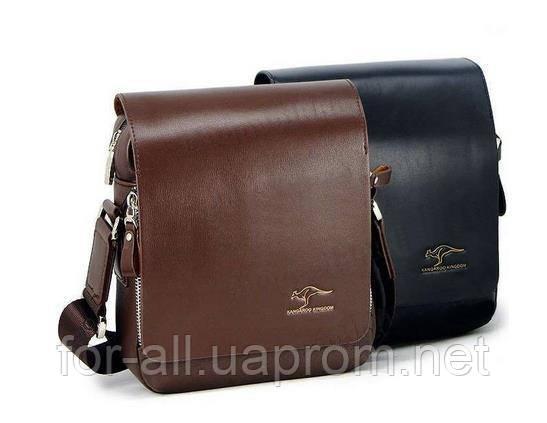 Купить мужские сумки мессенджеры Kangaroo Kingdom в интернет -магазине Модная покупка