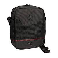Сумка Puma Ferrari из сетчатой ткани через плечо, Puma Mesh crossbody bag
