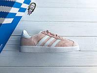 Кроссовки женские Adidas Gazelle D1502 розовые