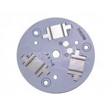 Подложка STAR для 3 мощных светодиодов (35 мм)