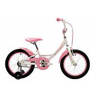 "Велосипед 16"" Pride Miaow белый/розовый 2017"