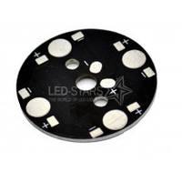 Подложка STAR для 4 мощных светодиодов (35 мм)