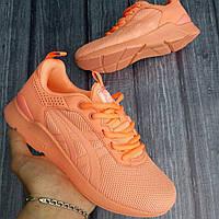Кроссовки женские Asics Gel D1573 оранжевые
