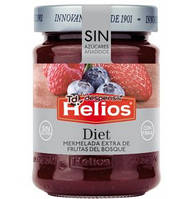 Джем из лесных ягод без сахара Helios Diet 280 грамм