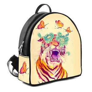 Городской стильный рюкзак с принтом Тигр