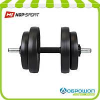 Гантель композитная Hop-Sport 15кг, фото 1