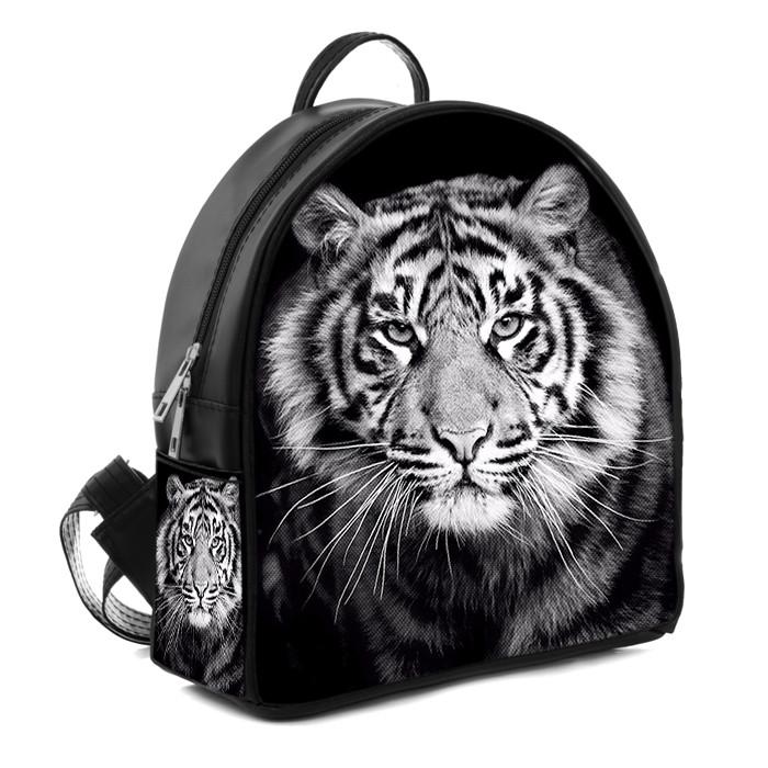 Городской модный рюкзак с принтом Тигр, цена 330 грн., купить в ... f711bf8a85d