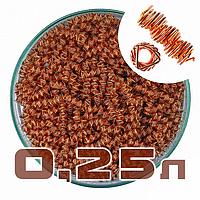 Призматические пружинки медные 0,25 л.