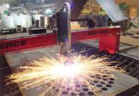 Порізка металу на газокисневій машині з чпу товщиною до 100мм