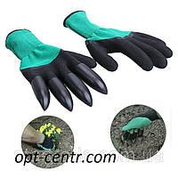 Садовые перчатки с когтями Garden Genie Glovers, фото 1