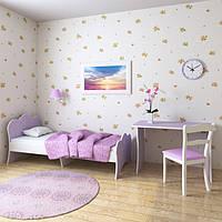 """Подростковая кровать """"Адель"""" 80см*190см (лаванда)"""
