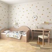 """Диван-кровать  """"Диана"""" 80см*190см (дуб молочный)"""